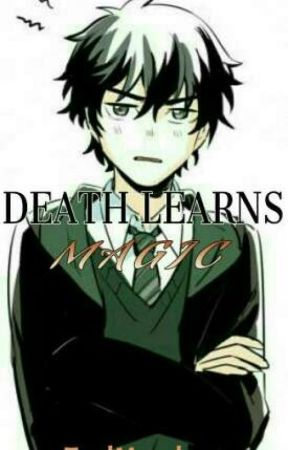 Death learns magic (Nico Di Angelo) by ZealousMacabre