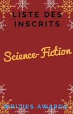 """Writies Awards : Les Inscrits """"Science-Fiction"""" by Writies"""