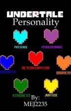 Personality(A SOUL Trait Undertale book) by MEJ2235