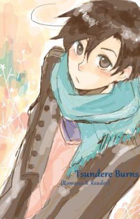 Tsundere Burns:  (Romano X Reader) by Kibbles518