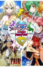 Test de Guile Et de Magie FairyTail by MartinP07