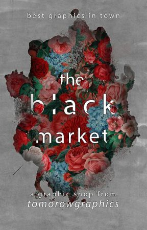 THE BLACK MARKET :: GRAPHIC SHOP  ► ÎNCHIS  by TomorrowGraphics