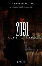2091 Generación A #PremiosShadow2019 #Wattys2019 #PGCoffee by DariSG
