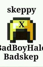 BadBoyHalo x Skeppy #badskep by COneThreeSeven
