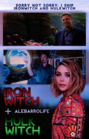 Ironwitch + Hulkwitch by alebarrolife