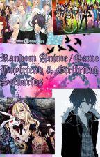 Random Anime/Game Boyfriend & Girlfriend Scenarios by Sweet_Psycho_Mikan