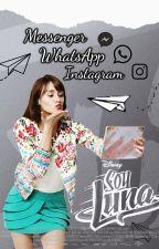 Messenger, WhatsApp e Instagram Soy Luna by BabyBanderbield