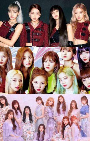 Lucky'- Izone X Gfriend X Twice X Red Velvet X Blackpink X Fem