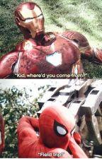Spider-man Field trip by keeno1709