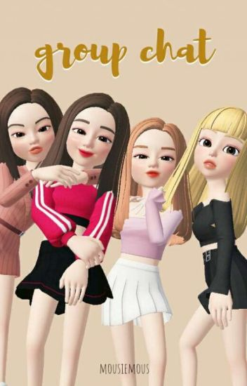 group chat; born with class (BLACKPINK)