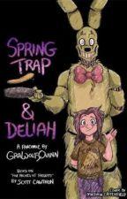 Springtrap e Deliah Traduzione Comic by MarziaHaruda