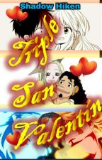Triple San Valentín | One Piece | by ShadowHiken