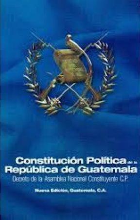 Constitución Política De La República De Guatemala Art