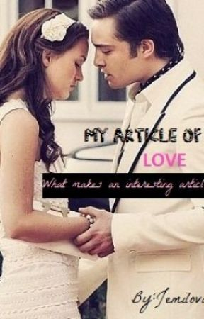 My Article of Love by jemilovah