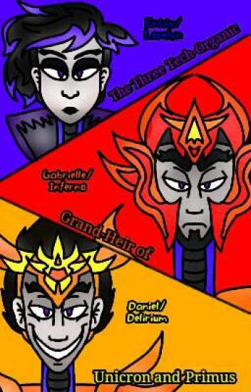 Three Techno-Organics (Transformers:Prime OC Fanfic) - DEMO