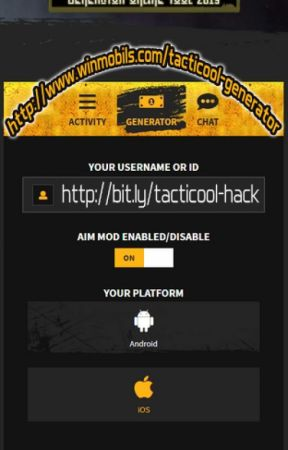 Tacticool Hack Mod Generator GOLDs - Get 50,000 Free Gold