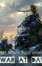 Horizon Zero Dawn: Metal War At Dawn  by Shadowcat_90