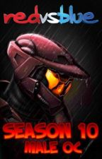 Red vs Blue Season 10 /Male Oc by xSpartanLeox
