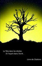 La tête dans les étoiles et l'esprit dans l'écrit  by UneEtoileAuCiel