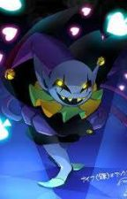 Chaos and Blood Yandere Jevil x reader  by PJLuvMusic