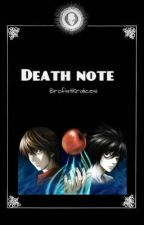 Death Note by MadamPuding