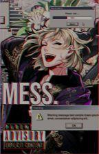 Mess  |  Graphic Portfolio 2  | by TakumiPineappleXD