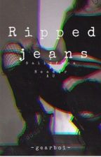 Ripped Jeans  by -gearboi-