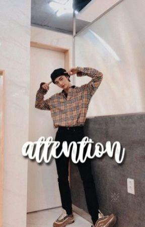 attention | hyunin by honey-wong