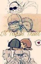 It Takes Trust (Roach X Ghost) by ChocolatePikachu027