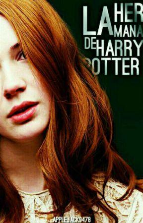 La hermana de Harry Potter by applejack9478