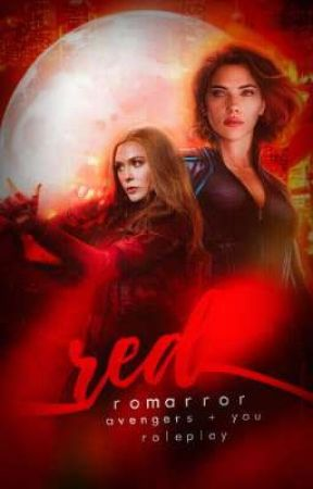 Red | Avengers  + You  role Play by romarror