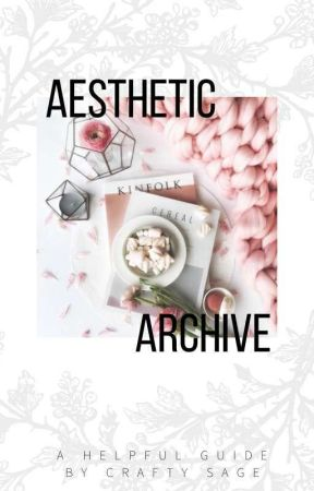 The Aesthetic Spell | craftysage - Chapter One: Fantastic Fonts and