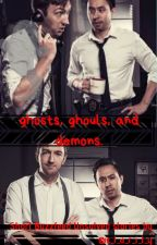 ♡ghosts, ghouls, and demons. // buzzfeed unsolved oneshots♡ by c_l_a_r_i_t_y