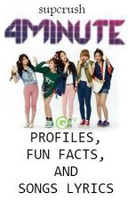 4MINUTE Profiles, Fun Facts and Songs Lyrics by supcrush
