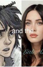 Nico di Angelo and the Little Angel by _iris_girl_