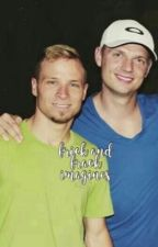 brian littrell & nick carter imagines  by seager-