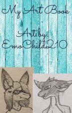 My Art book | EmoChild210 by EmoChild210
