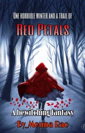 The Red Petals by MounaRao