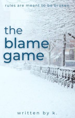 the blame game by naburrito