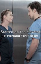 Started on the Elevator: A Merluca Fan Fiction by AJVstories