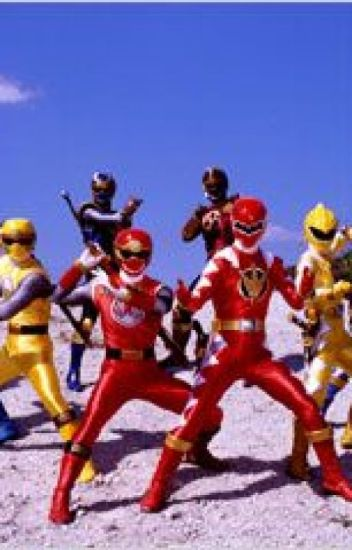 Power Rangers ninja storm and dino thunder x male reader