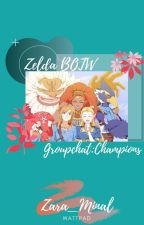 Zelda BOTW: Group chat(Champions) by Zara_Minal