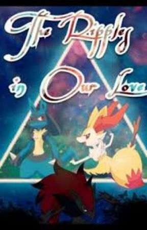 Ripples in Our Love - Lucario x Braixen (Pokemon) by Eevees_Closet