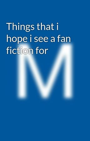 Things that i hope i see a fan fiction for - How Ranking up