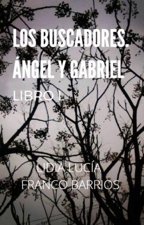 LOS BUSCADORES. ÁNGEL Y GABRIEL. PRIMER LIBRO. by LidiaDeTinta