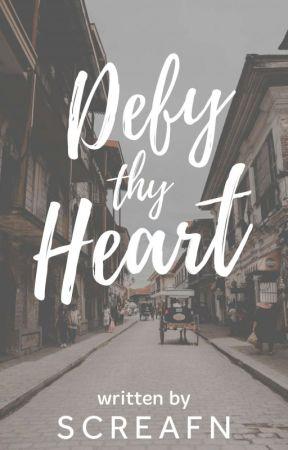 Defy Thy Heart (Guevarra Series #1) by screafn