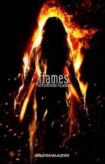 flames;the umbrella academy ↠ number five