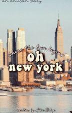 Oh New York {an emison story} by AbbieRidge