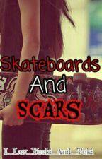 Skateboards and Scars by PSG_StockingA