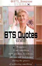 ✔ B͢T͢S͢ Qu͢o͢t͢e͢s͢    김남준 by BTS_Baepsae